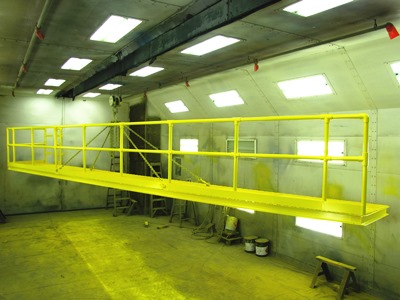Osha Platforms With Railings Scientific Dust Collectors